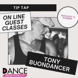 "Stage Session con ""Tony Buondancer"""